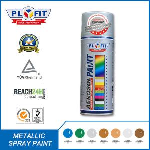 Silver Mirror Chrome Acrylic Aerosol Metallic Spray Paint pictures & photos
