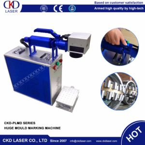 Handly Moving Operation Fiber Laser Marking Machine for Huge Mould pictures & photos