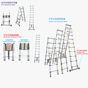 Aluminum Folding Telescopic Extension Ladder 5m