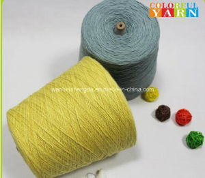 100% Slub Cotton Yarn for Scarf and Socks pictures & photos