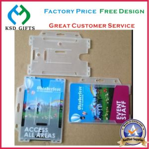Hard PVC Card Case with Lanyard pictures & photos