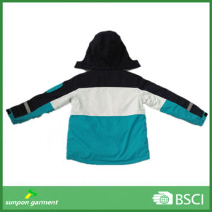 Kids Ski Jacket with Padding and Reflective Tape pictures & photos