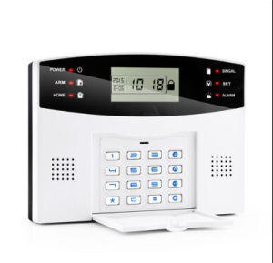 Built-in Speaker and Manual Wireless GSM Security Alarm System pictures & photos