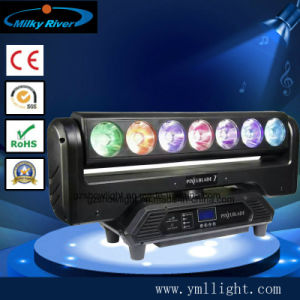 Endless Rotation 5 Heads 4in1 RGBW Rogue Spot LED Moving Head Bar Light pictures & photos