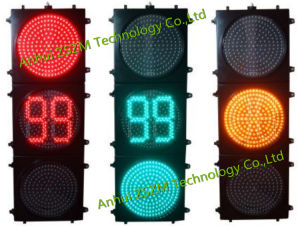 En12368 Certificated Traffic Light with Bi-Color 88 Countdown Timer pictures & photos