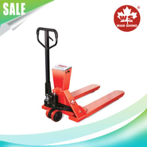 1000kg Pallet Truck with Scale pictures & photos