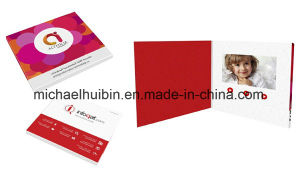 Custom Design Christmas Promotional Gift 4.3inch Video Greeting Card (VC-043) pictures & photos