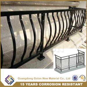 Wrought Iron Steel Deck Porch Railing pictures & photos