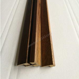 MDF with Wood Veneer Threshold /End Cap / Carpet Reducer Flooring Accessories pictures & photos