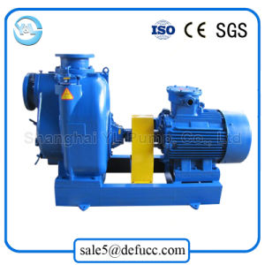 High Suction Lift Electric Motor Self Priming Mud Pump pictures & photos