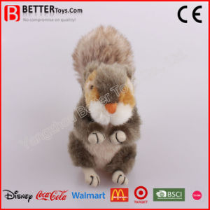Realistic Stuffed Animal Plush Squirrel Toy for Baby Kids pictures & photos