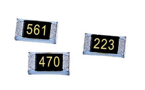 High Voltage Thick Film Chip Resistor Surface Mount Electronic Component pictures & photos