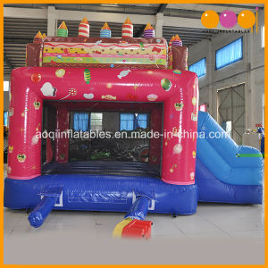Party Birthday Cake Inflatable Playhouse Combo (AQ07178) pictures & photos