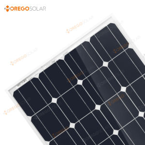 Morege Mono Solar (cells) Panel 100W for Energy System pictures & photos