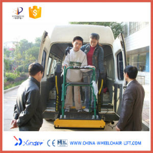 Tail Lift Mounted on Wheel Vehicle for Passengers (WL-D) pictures & photos