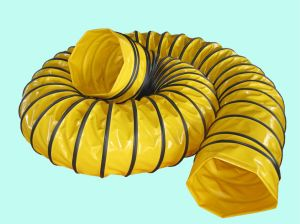 Air Ventilator Yellow Flexible Ducting Hose pictures & photos