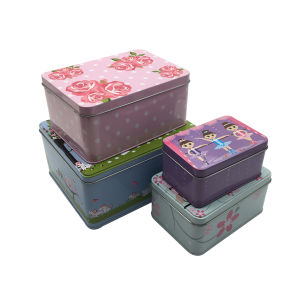 Set Box Pacakging Tin Can Custom Logo Factory Directly pictures & photos