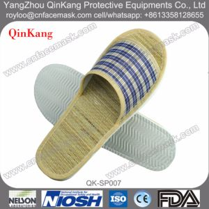 Straw Mat Insole EVA Slippers pictures & photos