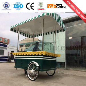 The Hand Push Mobile Food Cart with Fast Snack Food pictures & photos