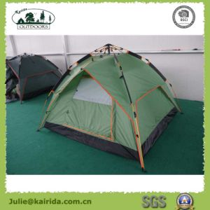 3 Persons Automatic Double Layers Camping Tent pictures & photos