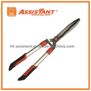 Bearing Action Gear Power Lever Hedge Shears with Aluminum Handles pictures & photos