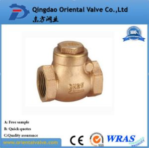 Factory Price High Quality Brass Spring Check Valve with Brass Core pictures & photos