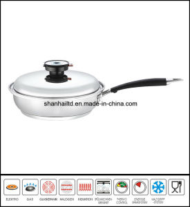 Stainless Steel Frypan Skillet pictures & photos
