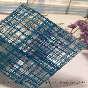 10mm+Glue+5mm Customized Art Glass/Sandwich Glass/Safety Glass/Laminated Glass for Decoration pictures & photos