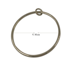 Garment Ornament Fashion Large Metal Ring Zipper Pull pictures & photos