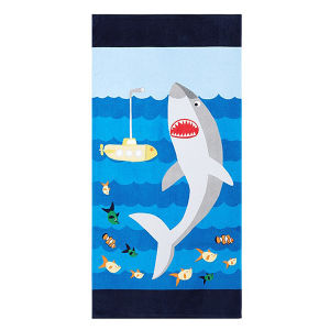 Customized Printing Swimming Towel, Cotton Velvet Beach Towel, Pool Towel pictures & photos