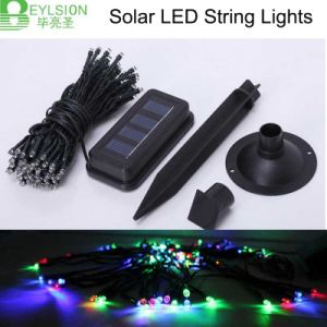 LED Solar String Light 10m Red Blue Green White/RGB pictures & photos