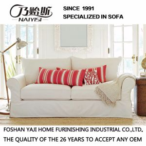 Classical Style White Color Fabric Sofa Hotel Furniture M3014 pictures & photos