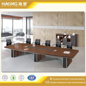Hot Selling Brown Walnut MDF Executive Conference Table pictures & photos