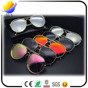 Thick Glasses Colorful Polarized Sunglasses pictures & photos