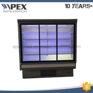 Plug in Glass Sliding Door Multideck Display Cooler pictures & photos