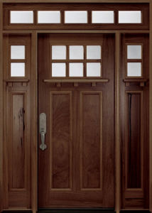 House Solid Wood Interior Glass Door Swing in (GSP1-033) pictures & photos