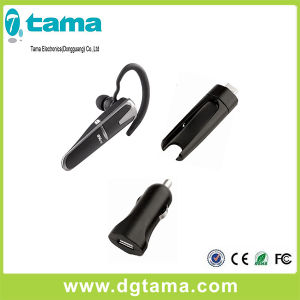 Bluetooth V4.0 Wireless Earphone with Charging Docking and Car Charger pictures & photos