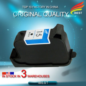 Premium Quality Compatible HP15 Ink Cartridge C6615A Vivid Color