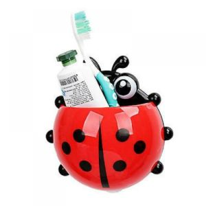 Ladybug Toothbrush Holder Wall Suction Bathroom Cartoon Cup Toothpaste Sucker pictures & photos