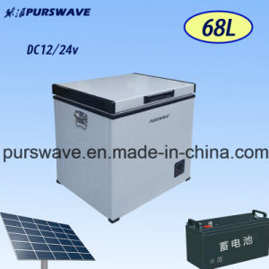 Purswave 32L DC Freezer Portable Refrigerator Solar Fridge 12V24V48V -18 Degree pictures & photos