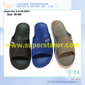 Cheap and Durable Design EVA Men Slippers with 3 Colors for Choice pictures & photos
