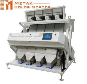 4 Chutes 256 Channels Bean Color Sorter Machine, Intelligent CCD Multifunction Color Sorter
