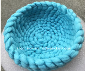 Pet Accessories Hand Knit Pet Dog Bed Mat Factory pictures & photos