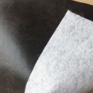 Flame Retardant Synthetic PU Leather for Furniture Making pictures & photos