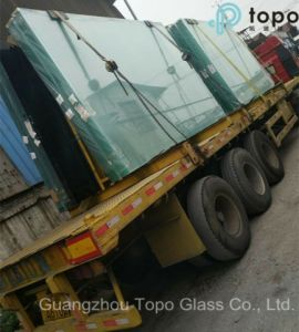 Tempered Laminated Glass / Patterned Building Glass / Colored Float Building Glass (T-TP) pictures & photos