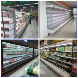 Supermarket Wind-Coolers Refrigerator, Air Cooling Display Chiller pictures & photos