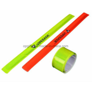 Custom PVC Reflective Slap Bands & Safety Armband & Slap Wristband pictures & photos