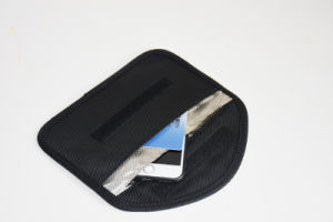 Anti Radiation RF Signal Shielding Blocker Bag for Cell Phone pictures & photos