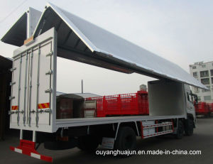 Wing-Opened Van Type Semitrailer pictures & photos