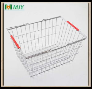 20 Liters Steel Wire Chrome Plated Shopping Basket Mjy-Ts01 pictures & photos